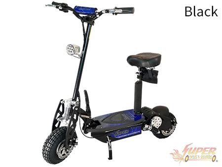 Super Turbo 1000-Elite black electric scooter