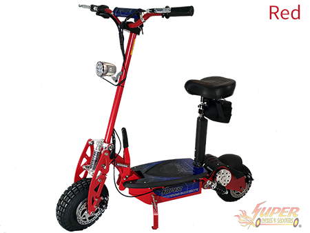 Super Turbo 1000-Elite red electric scooter