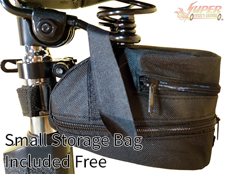 Small storage bag included free