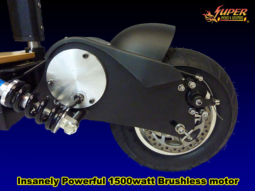 Insanely powerful 1500 watt brushless motor