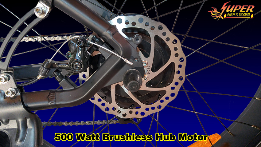 500 Watt Brushless Hub Motor