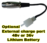 External charge port