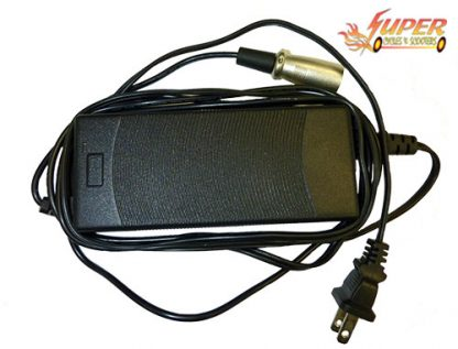 Charger for the Super 1000 Lithium Scooter.