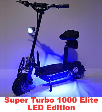 Super Turbo 1000-Elite electric scooter – Super Cycles