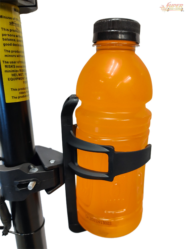 Bottle holder on scooter