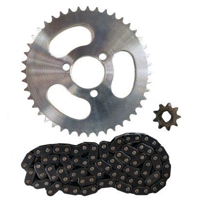 800 watt to 1000 watt sprocket and chain conversion kit